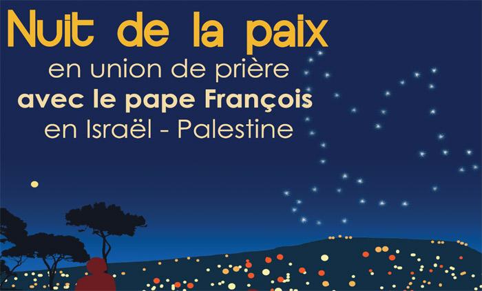 Nuits De La Paix à Loccasion Du Voyage Du Pape