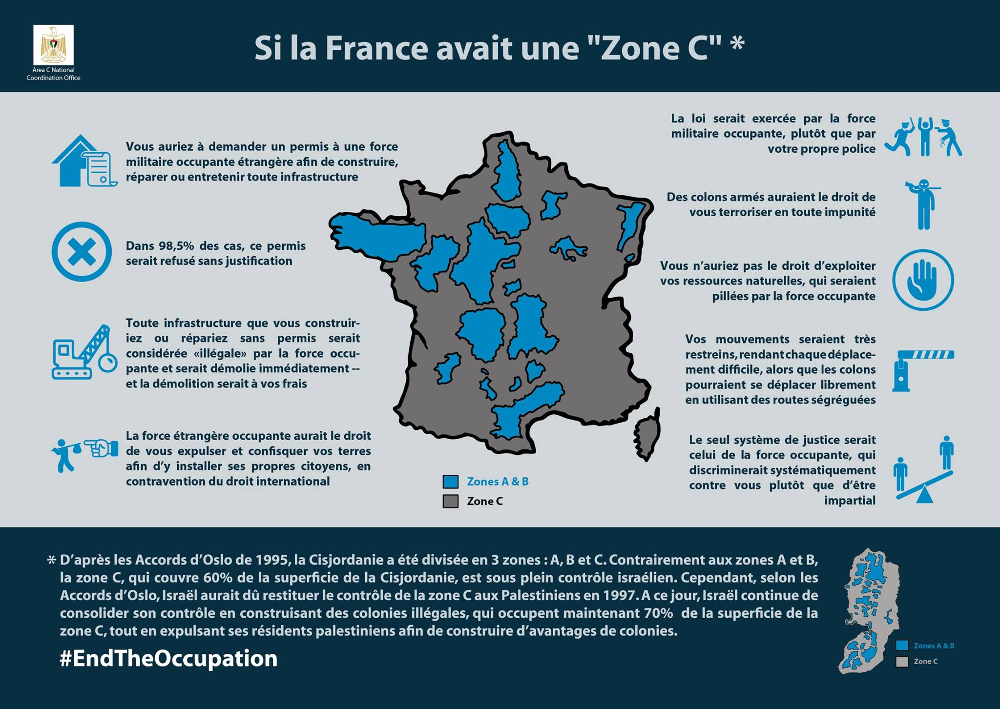 infographie si la france avait une zone c. Black Bedroom Furniture Sets. Home Design Ideas